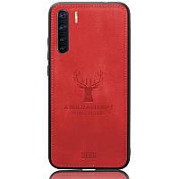 Чехол Deer Case для Oppo A91 Red