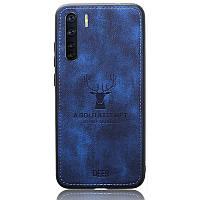 Чехол Deer Case для Oppo A91 Blue