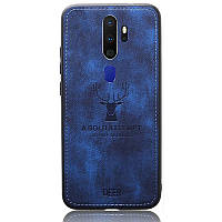 Чехол Deer Case для Oppo A9 2020 / A5 2020 Blue