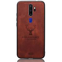 Чехол Deer Case для Oppo A9 2020 / A5 2020 Brown
