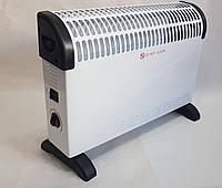 Конвектор напольный электрический Crownberg 2000 Вт, конвекторный обогреватель, электроконвектор настенный