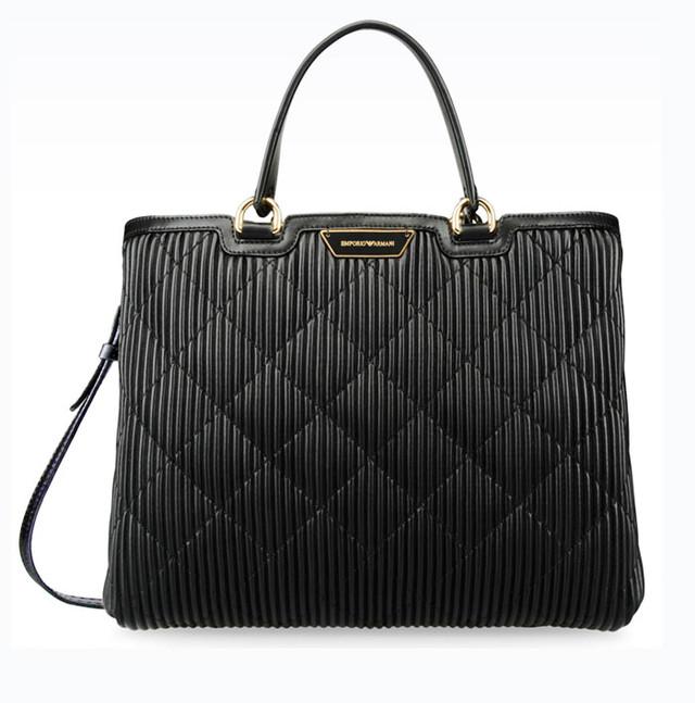 Женская сумка-шоппер Emporio Armani вид спереди
