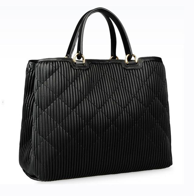 Женская сумка-шоппер Emporio Armani вид сбоку