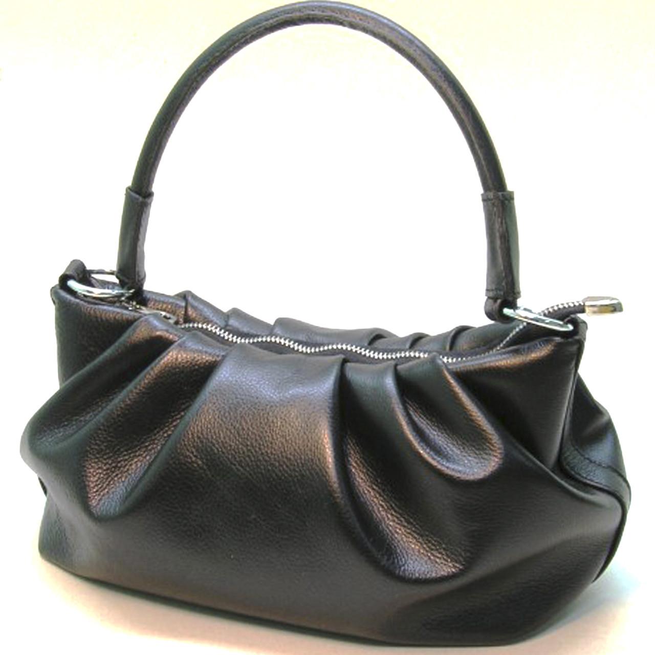 Стильна сумочка із натуральної шкіри