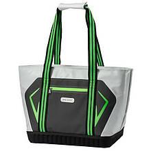 Термосумка для продуктів КЕМПІНГ Street Bag (25л), сіро-зелена
