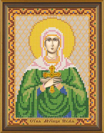 Схема для вышивки бисером икона Святая Иулия (Юлия)
