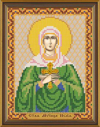 Схема для вышивки бисером икона Святая Иулия (Юлия), фото 2