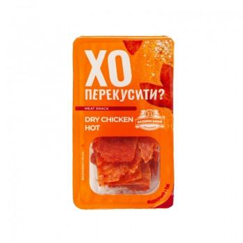 Чипсы мясные «Dry Chicken Hot» (0,050 г) ТМ Бащинський