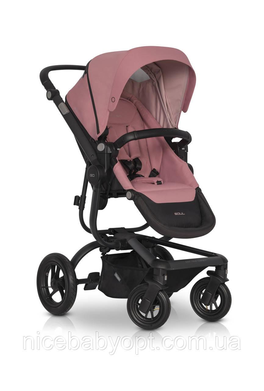 Детская прогулочная коляска EasyGo Soul Air 2021 Rose