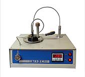 Апарат ТВЗ-1М цифровий, з калібруванням для визначення спалаху в закритому тиглі