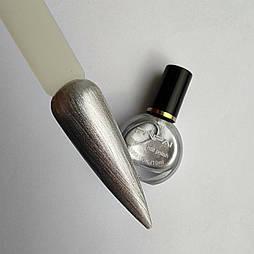 Лак для стемпинга  серебро 10мл