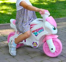 Детский мотоцикл для девочки ТехноК