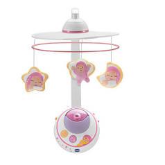 Мобиль-проектор на кроватку Chicco Волшебные звёздочки Розовый