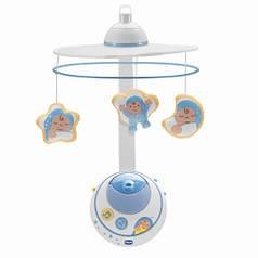 Мобиль-проектор на кроватку Chicco Волшебные звёздочки Голубой