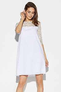 Женское летнее шифоновое платье Orion, белое