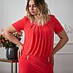 Нарядные платья больших размеров интернет магазин 50-60 сиреневый, фото 4