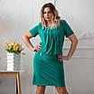 Нарядные платья больших размеров интернет магазин 50-60 сиреневый, фото 7