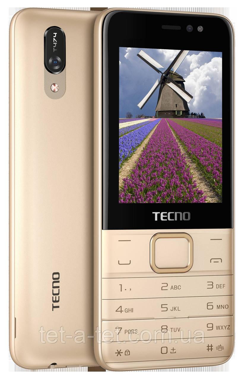 Мобільний телефон Tecno T474 DS Champagne Gold (UA UCRF)