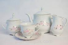Чайный сервиз Cmielow Rococo 9704 на 12 персон 27 предметов фарфор (9704)