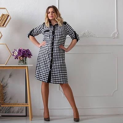 Модное платье женское большого размера   50-58