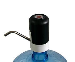 Электро помпа для бутилированной воды Water Dispenser 4W черный  электрическая аккумуляторная на бутыль (ST)
