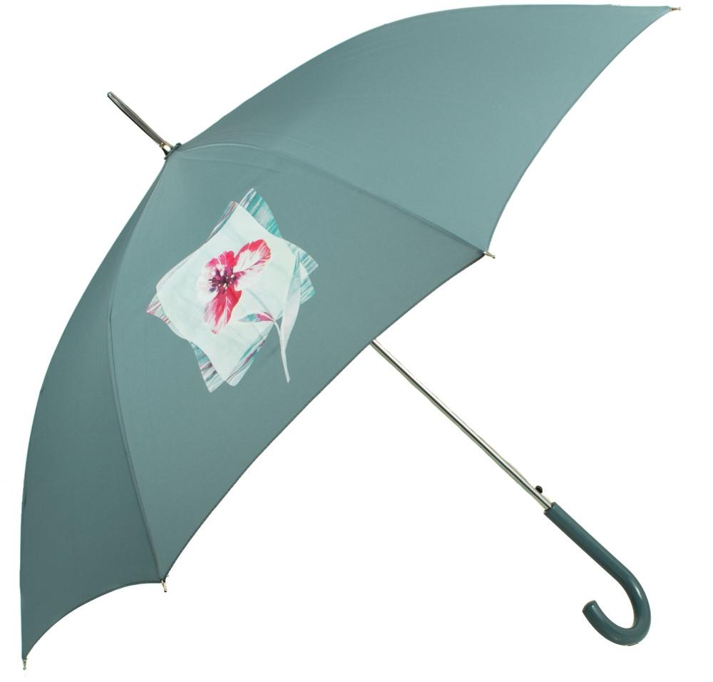 Стильный зонт-трость женский полуавтомат AIRTON Z1621-5