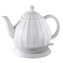 Чайник Maestro білий 1,2 л кераміка (070 MR)