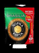 """Кофе растворимый """"Черная Карта Бразилия"""" 400 гр. в эконом пакете!"""