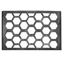 Стальная решётка гриль для мангала коврика BBQ 370х240 мм