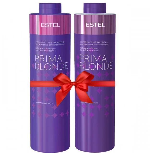 Набір для холодних відтінків блонд ESTEL PRIMA BLONDE Professional (шампунь 1000 мл, бальзам 1000 мл)