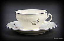 Набор чайный Thun Bernadotte (Гуси) на 6 персон 12 предметов 205мл d10 см h6 см фарфор (5936B51)