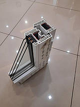 Двухстворчатые окна Rehau 60, фото 2