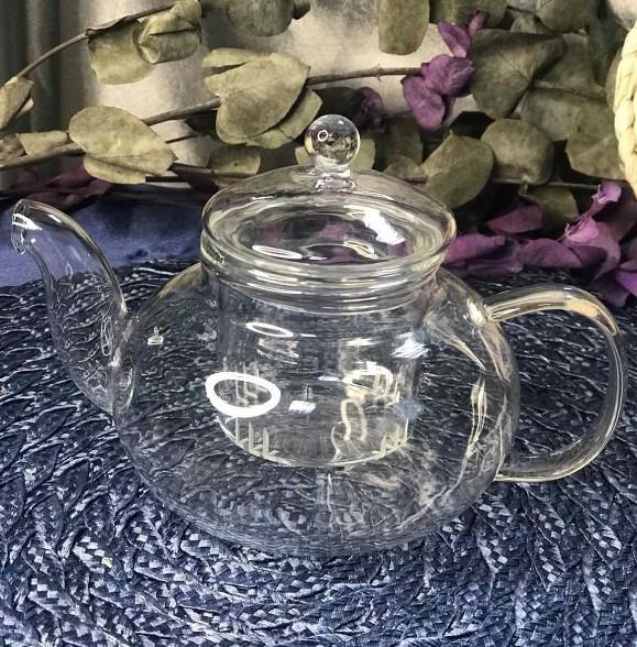 """Чайник стеклянный заварочный """"Греческий"""" 410мл"""