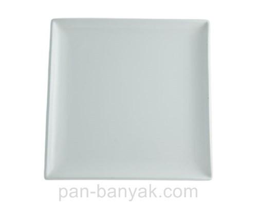 Тарелка FoREST Elara квадратная 25х25 см фарфор (731737)