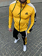 Спортивний костюм Adidas 2021 мужской желтий