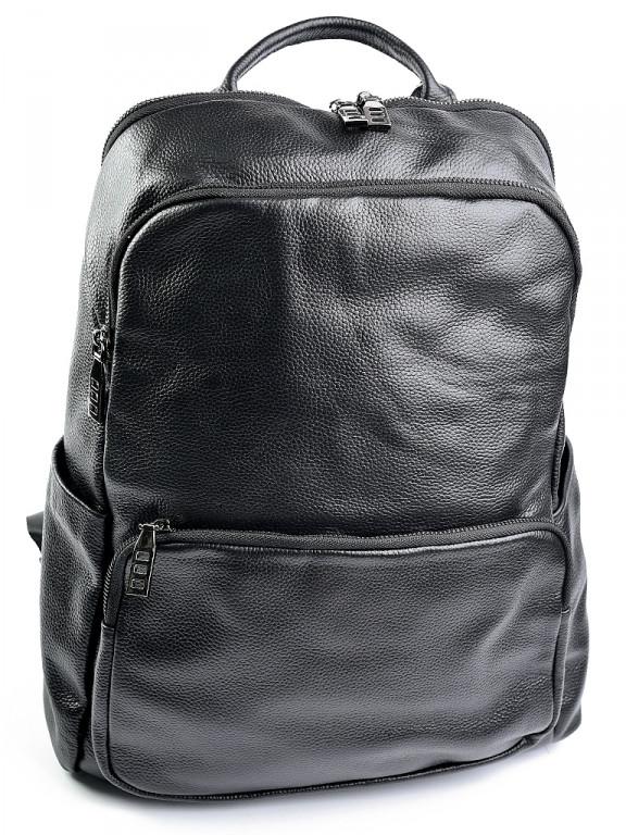 Кожаный рюкзак 11682 черный
