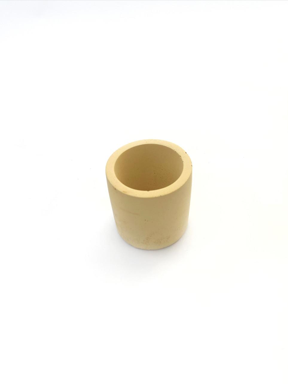 Бетонний горщик Decoline v-70 мл.  (желтый) B1003-6