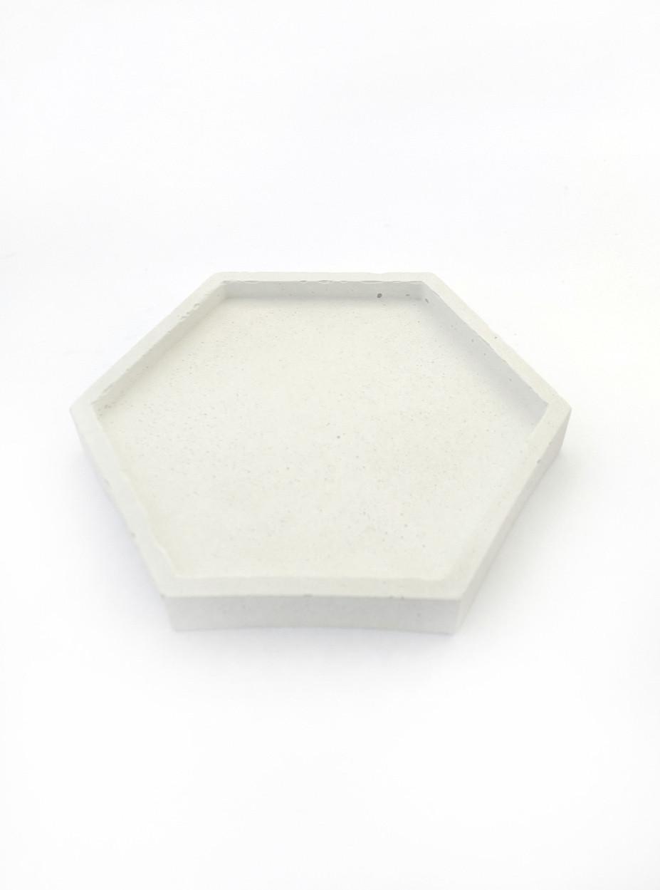 Бетонная подставка Decoline (белая) B1004-1