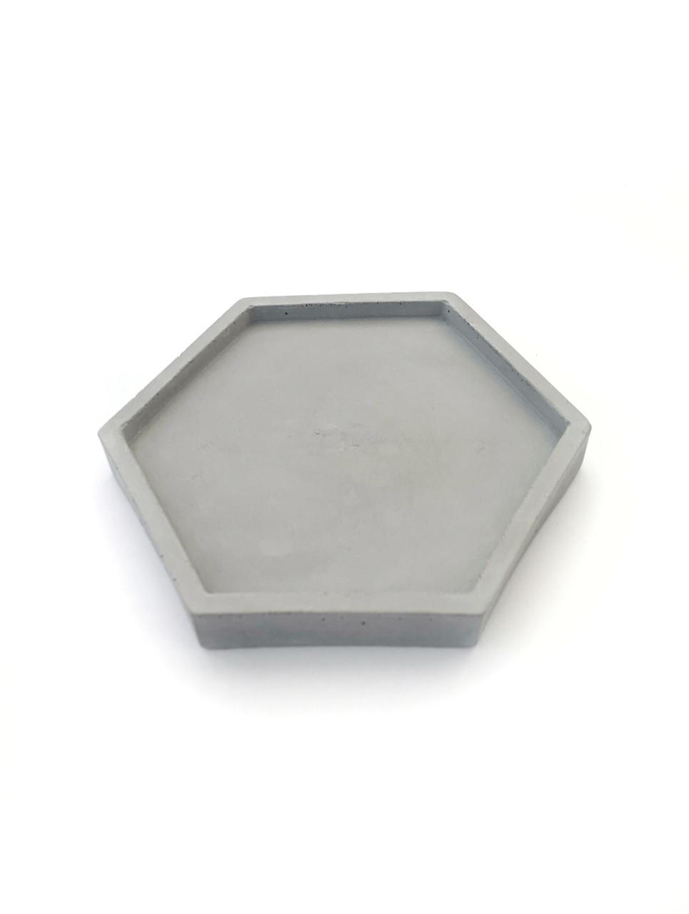 Бетонная подставка Decoline (серая) B1004-2