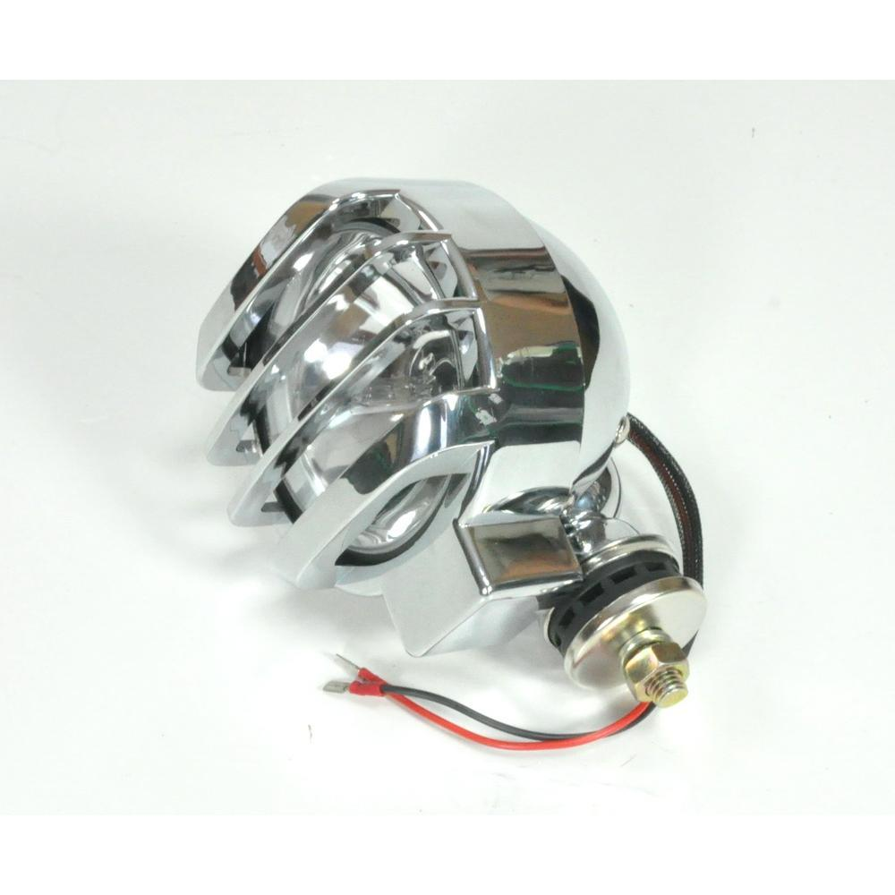 Прожектор поисковый лодочный ксенон LS5010 + крышка Китай (хром)