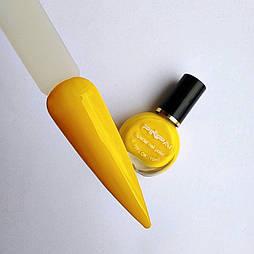 Лак для стемпінга жовтий 08 10мл
