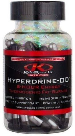 Жіросжігателя KiloSports Nutrition Hyperdrine OD caps 60, фото 2