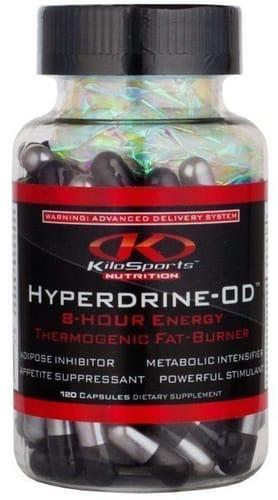 Жіросжігателя KiloSports Nutrition Hyperdrine OD caps 60