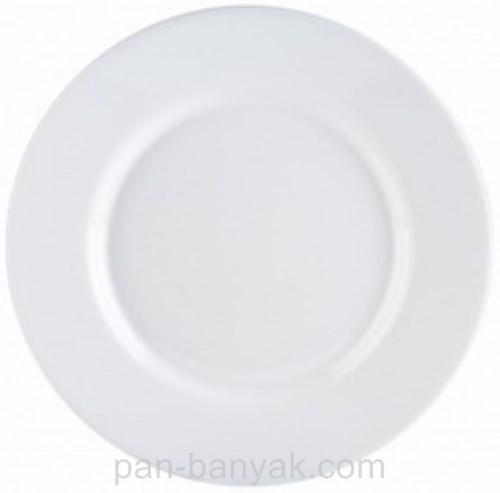 Тарелка обеденная Luminarc Everyday круглая с бортом d24 см стеклокерамика (0564G)