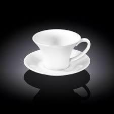 Чашка чайная с блюдцем Wilmax  180мл фарфор (993169 WL)