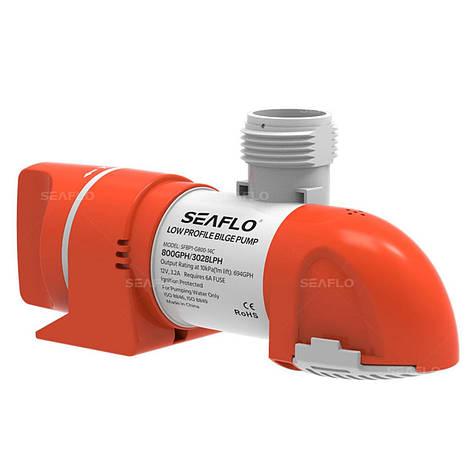 Помпа низкого профиля SeaFlo 800 SFBP1-G800-14С, фото 2