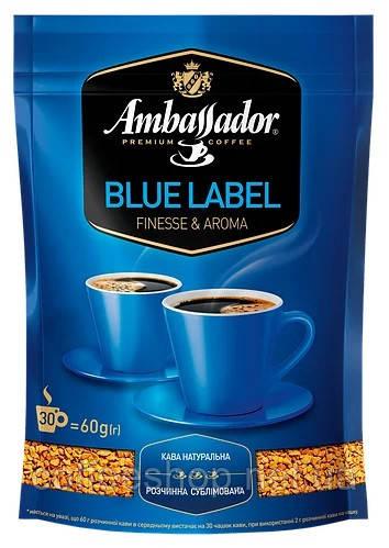 """Растворимый кофе """"Ambassador Blue label"""" 60 гр."""