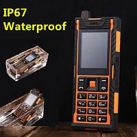 Противоударный водонепроницаемый телефон Aole ip67 Батарея 3800mah на 2 сим-карты