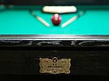Більярдний стіл для гри в рускую піраміду АСКОЛЬД 9 футів Ардезія 2.6 м х 1.3 м, фото 9