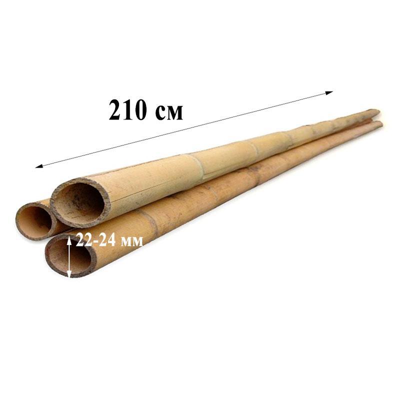 Опора бамбукова ZRостай 210 см (20-22мм) N8013